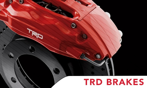 TRD Brakes offered at the price of Regular Retail brakes*