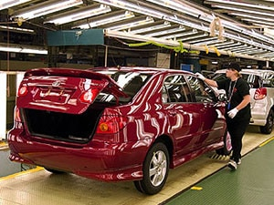 Toyota Worker