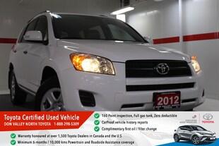 2012 Toyota RAV4 Base (A4) SUV