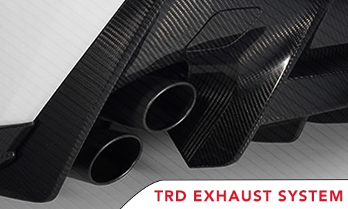 Save 10% off Retail Price on TRD Exhaust Systems**