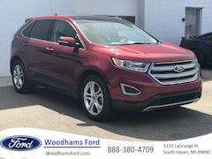 Used 2015 Ford Edge Titanium SUV for sale in South Haven, MI