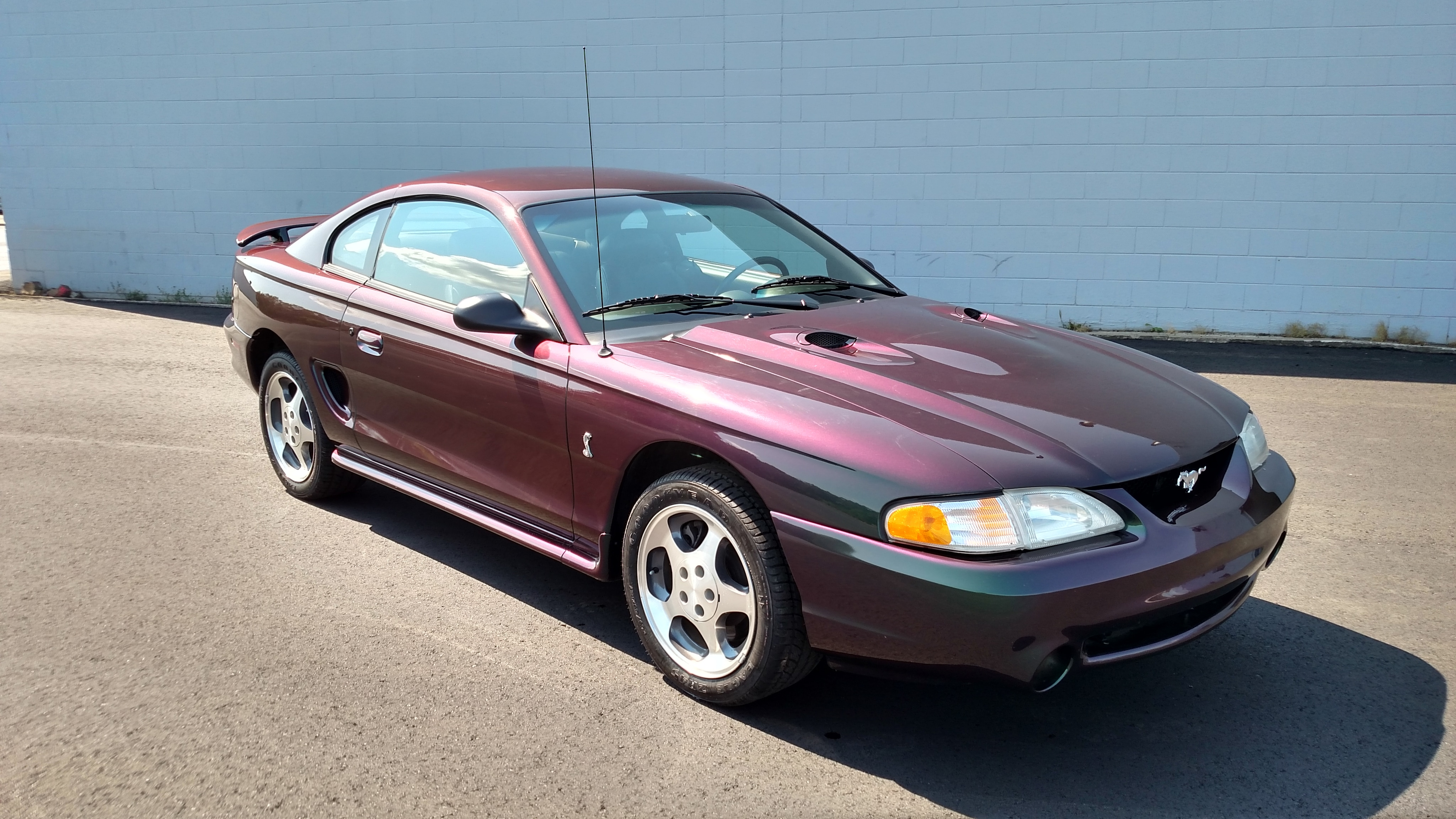 Used 1996 Ford Mustang For Sale at Woodhams Ford Lincoln | VIN:  1FALP47V9TF160998