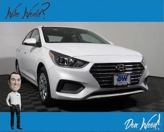 New 2019 Hyundai Accent SE Sedan 3KPC24A37KE071312 for sale in Athens, OH at Don Wood Hyundai
