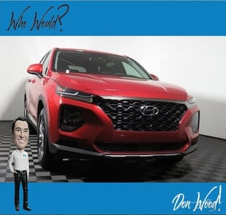 New 2019 Hyundai Santa Fe SE 2.4L Auto AWD SUV 5NMS2CADXKH127671 for sale in Athens, OH at Don Wood Hyundai