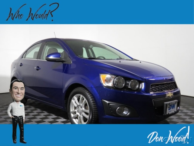 Used 2015 Chevrolet Sonic LT Sedan fors sale in Athens, OH