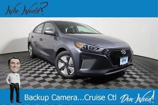 New 2019 Hyundai Ioniq Hybrid Blue Hatchback KMHC65LC6KU115983 for sale in Athens, OH at Don Wood Hyundai