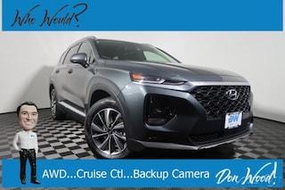 New 2019 Hyundai Santa Fe SEL Plus 2.4 SUV 5NMS3CAD6KH048513 for sale in Athens, OH at Don Wood Hyundai