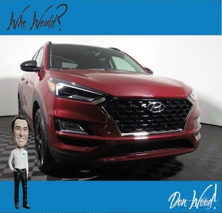 New 2019 Hyundai Tucson Night AWD SUV KM8J3CAL0KU921762 for sale in Athens, OH at Don Wood Hyundai