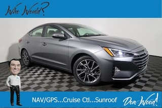 New 2019 Hyundai Elantra Limited Auto Sedan 5NPD84LF6KH441655 for sale in Athens, OH at Don Wood Hyundai