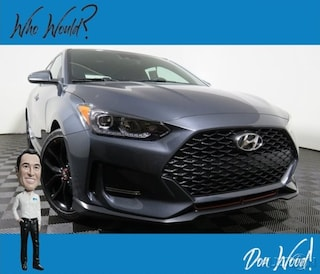 New 2019 Hyundai Veloster Turbo R-Spec Hatchback KMHTH6AB3KU015947 for sale in Athens, OH at Don Wood Hyundai