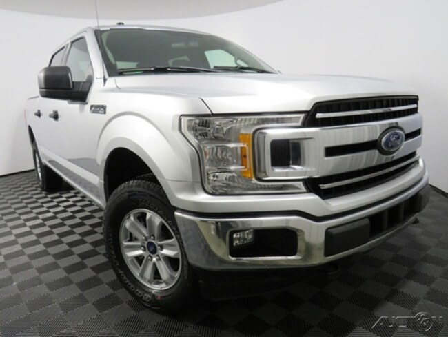 Used 2018 Ford F-150 XLT Truck SuperCrew Cab fors sale in Athens, OH