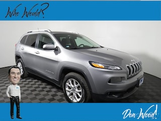 Used 2015 Jeep Cherokee Latitude SUV 1C4PJMCB5FW788649 for sale in Athens, OH at Don Wood Hyundai