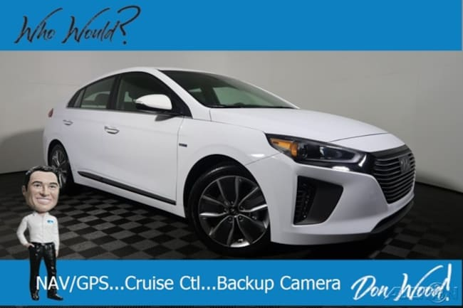 New 2019 Hyundai Ioniq Hybrid Limited Hatchback for sale in Athens, OH
