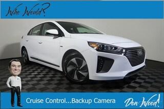 New 2019 Hyundai Ioniq Hybrid SEL Hatchback KMHC75LC4KU111184 for sale in Athens, OH at Don Wood Hyundai
