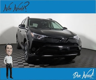 Used 2018 Toyota RAV4 XLE SUV 2T3RFREV4JW789524 for sale in Athens, OH at Don Wood Hyundai