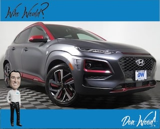 New 2019 Hyundai Kona Iron Man Edition SUV KM8K5CA54KU303215 for sale in Athens, OH at Don Wood Hyundai