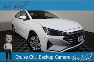 New 2019 Hyundai Elantra SE Sedan 5NPD74LFXKH410444 for sale in Athens, OH at Don Wood Hyundai