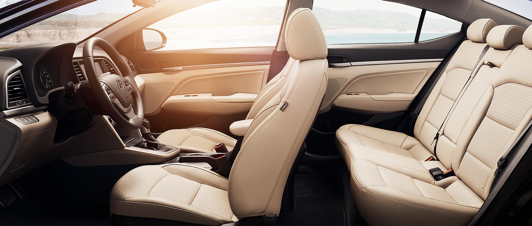 2017 Hyundai Elantra Seating