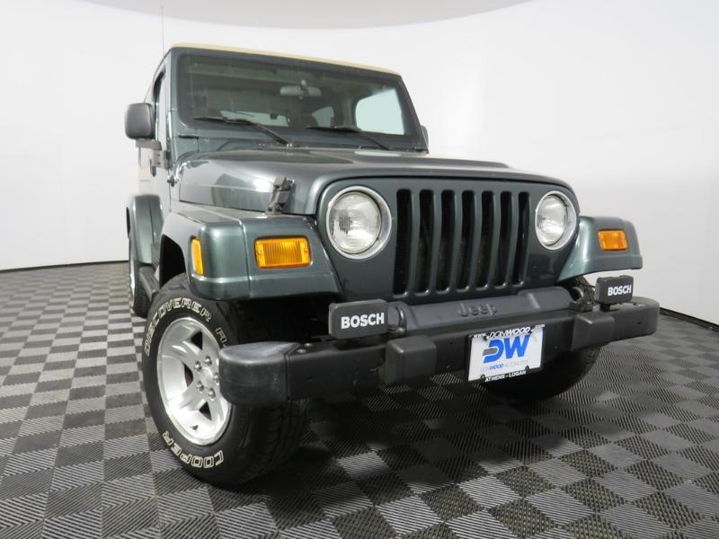 2002 Jeep Wrangler Sahara SUV