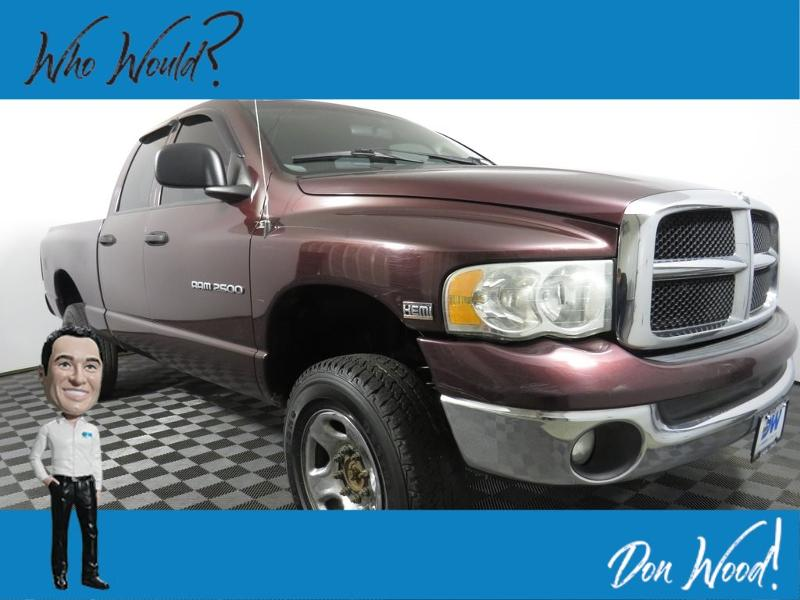 2004 Dodge Ram 2500 SLT/Laramie Crew Cab Long Bed Truck