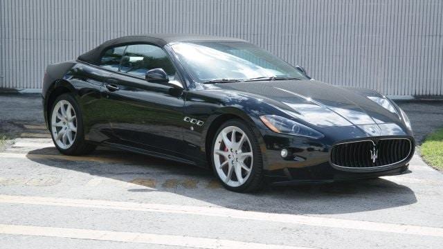 2012 Maserati Granturismo Sport Convertible