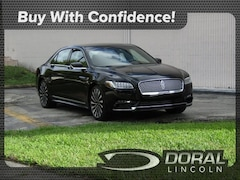 Used 2017 Lincoln Continental Black Label Sedan