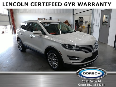 Featured used vehicle 2018 Lincoln MKC Reserve SUV for sale in Green Bay, WI