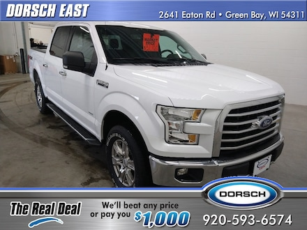 Featured used vehicle 2017 Ford F-150 XLT Truck for sale in Green Bay, WI