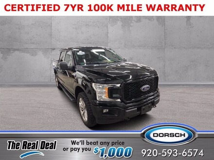 Featured used vehicle 2018 Ford F-150 XL Truck for sale in Green Bay, WI