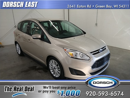 Featured used vehicle 2018 Ford C-Max Hybrid SE Hatchback for sale in Green Bay, WI
