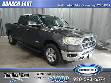Featured used vehicle 2019 Ram 1500 Big Horn/Lone Star Truck for sale in Green Bay, WI