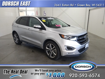 Featured used vehicle 2017 Ford Edge Sport SUV for sale in Green Bay, WI