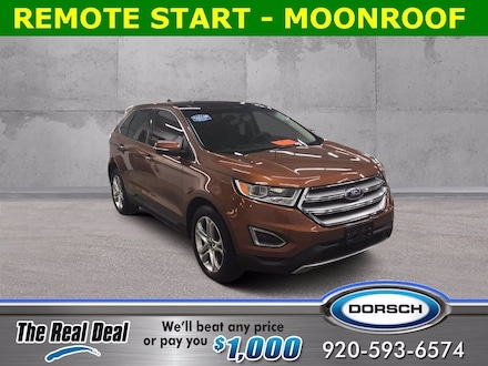 Featured used vehicle 2017 Ford Edge Titanium SUV for sale in Green Bay, WI