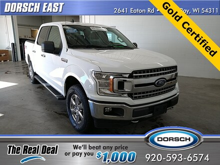 Featured used vehicle 2019 Ford F-150 XLT Truck for sale in Green Bay, WI