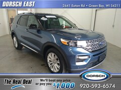Used 2020 Ford Explorer Limited SUV For Sale in Green Bay, WI