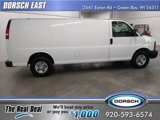 Bargain used vehicle 2010 Chevrolet Express 3500 Work Van Cargo Van for sale in Green Bay, WI