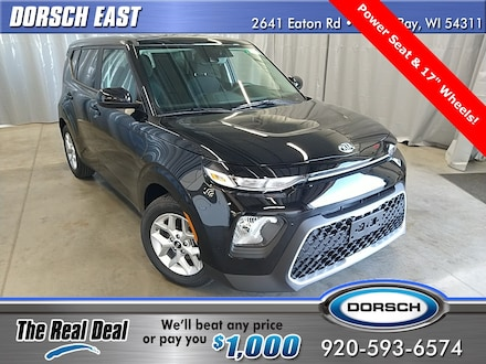 Featured new Kia vehicles 2021 Kia Soul S Hatchback for sale in Green Bay, WI
