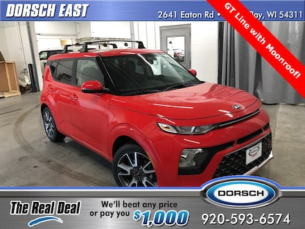 Featured new Kia vehicles 2021 Kia Soul GT-Line Hatchback for sale in Green Bay, WI