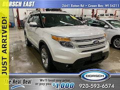 Used 2015 Ford Explorer Limited SUV For Sale in Green Bay, WI