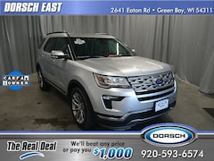 Used 2018 Ford Explorer Limited SUV For Sale in Green Bay, WI