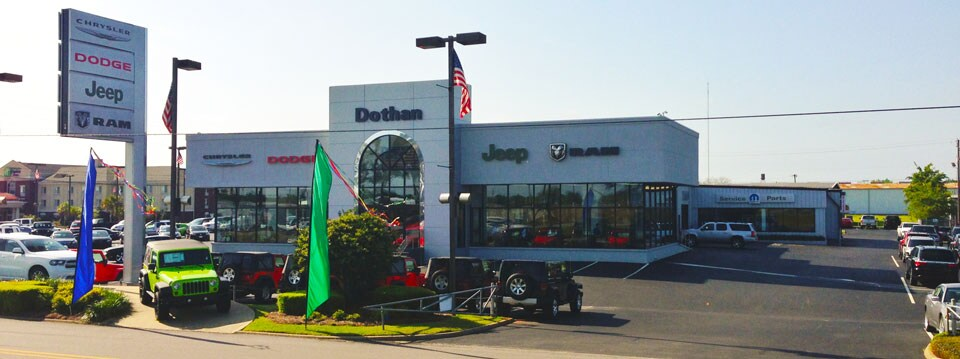 Car Dealerships Dothan Al >> Dothan Chrysler Dodge Jeep Ram Fiat | New Dodge, Jeep