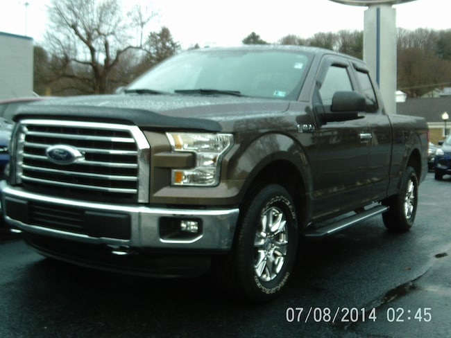 2015 Ford F-150 XLT Four-Wheel Drive with Locking Differential Extende