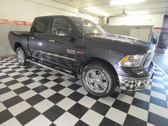 Used 2018 Ram 1500 4wd Big Horn Crew Cab Eco Diesel For Sale
