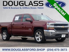 Used 2017 Chevrolet Silverado 1500 LT Truck for sale in Clifton, TX