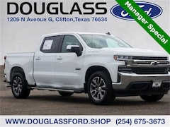 Used 2019 Chevrolet Silverado 1500 LT Truck for sale in Clifton, TX