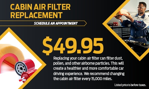 Cabin Filter Replacement