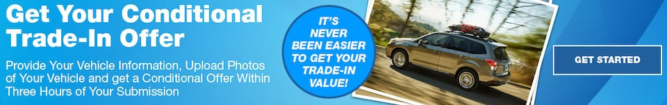 Get Your Conditional Trade-In