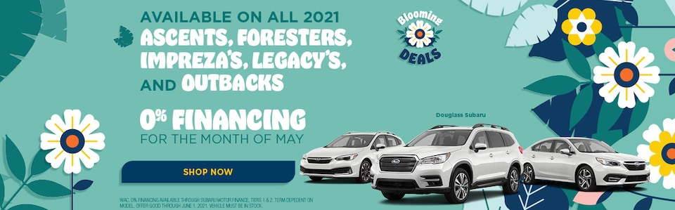 May 2021 Low Financing Specials