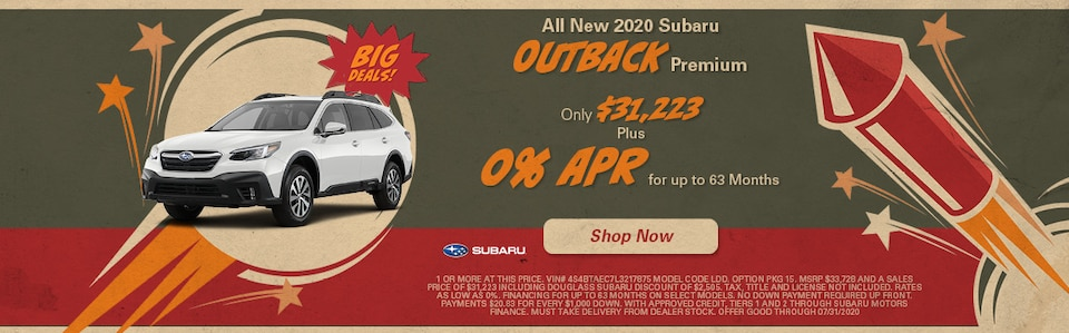 July 2020 Outback Special