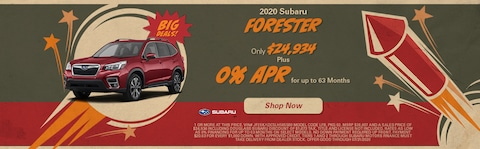 July 2020 Forester Special
